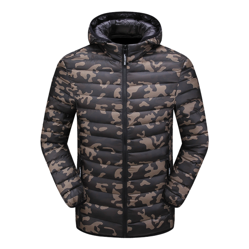 Men's Clothing Motivated 2018 New Casual Brand White Duck Down Jacket Men Autumn Winter Warm Coat Mens Ultralight Duck Down Jacket Male Windproof Parka