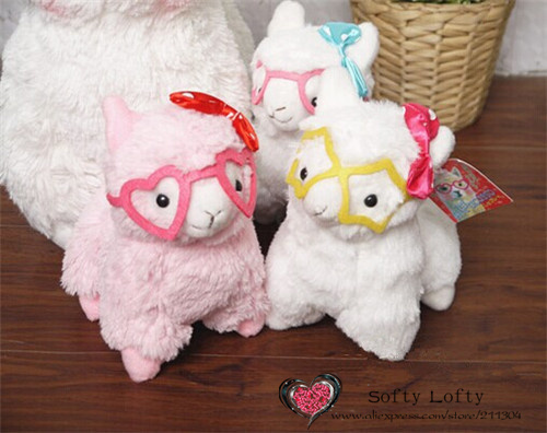 Alpacasso with glasses small - 2