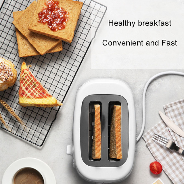 Toaster Home Breakfast Spit Driver  Mini Automatic Toaster Baking Machine 220V 2