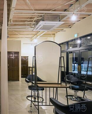 Creative Beauty Salon, Mirror Stand, Single And Double Floor Mirror, Tieyi Barbershop Mirror.