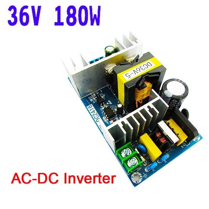<font><b>AC</b></font>-<font><b>DC</b></font> Inverter AC100-240V To <font><b>36V</b></font> <font><b>DC</b></font> <font><b>5A</b></font> <font><b>180W</b></font> Switching Power Adapter Converter Regulated Module image