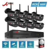 ANRAN Plug And Play P2P 960P 8CH WIFI NVR Kit 3 Array IR Outdoor Video 1