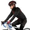 Rockbros Winter Fleece Cycling Jacket Windproof Waterproof Reflective MTB Road Riding Bike Clothing Bicycle Jackets 4XL