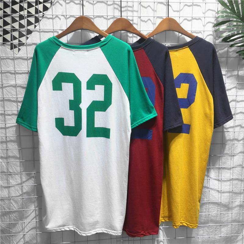 Women Harajuku Style Number Printed Basketball Dress Loose Short Sleeve Summer Dresses Casual Korean Dresses Basketball Jerseys
