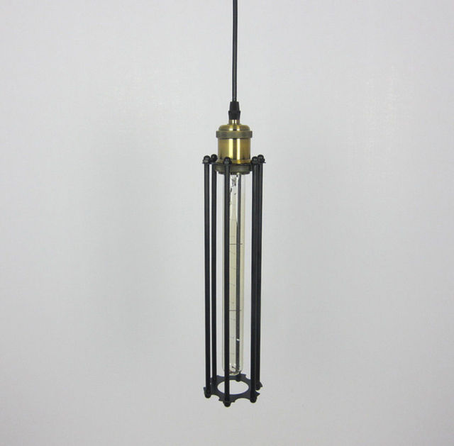 WOXOYOZO Vintage Industrial Metal Long Pendant Lights Country Style ...