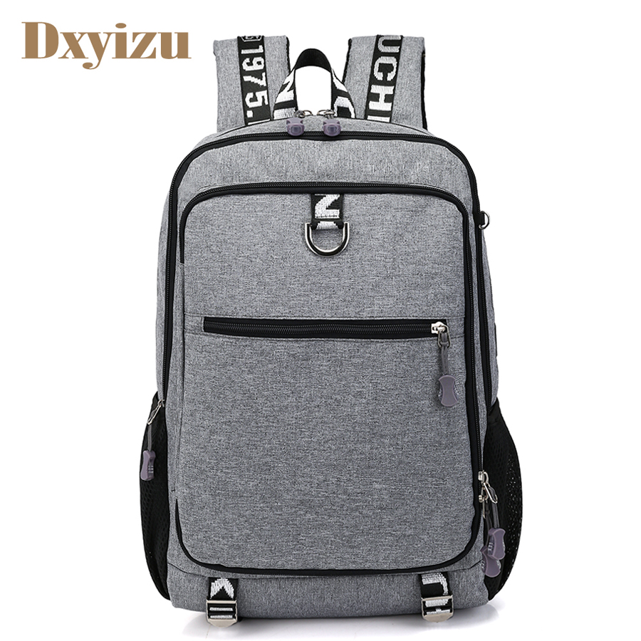 Preppy Style USB Charge Multifunction Backpack Mochila Men School Bag Laptop Bag Travel Large Capacity College Student Backpacks 8848 brand women backpack preppy style 2017 spring new school student bag backpacks knapsack female 15 6 laptop 173 002 013