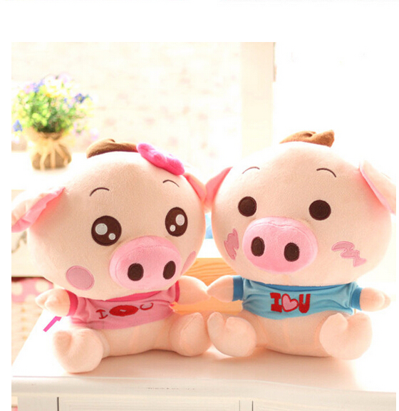 2015 McDull pig plush pig lovers  doll You giggle pig piglet large children's toys birthday gift free shipping free shipping l wedding gift lovers doll decoration extra large doll juguetes de los cabritos