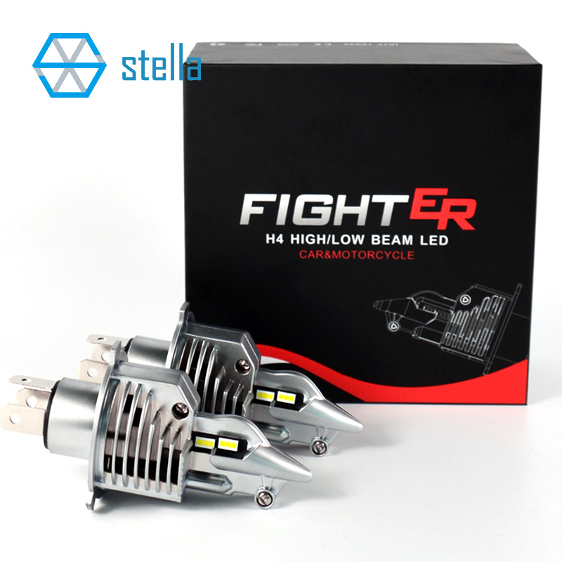 Image 5 - Stella H4/9003/HB2 LED headlight bulbs 12V 24V 70W 11600LM diode lamps for cars high beam dipped beam fog lights auto grade chip-in Car Headlight Bulbs(LED) from Automobiles & Motorcycles