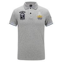 새로운 육군 폴로 셔츠 남성 여름 스타일 공군 한 셔츠 남성 짧은 소매 턴 다운 칼라 Camisa 폴로 Masculina 4XL