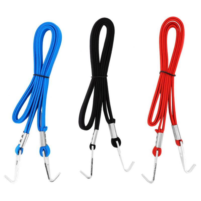Luggage Rope Tensioning Rubber Rope Strap Luggage Bicycle Cycling-Sports