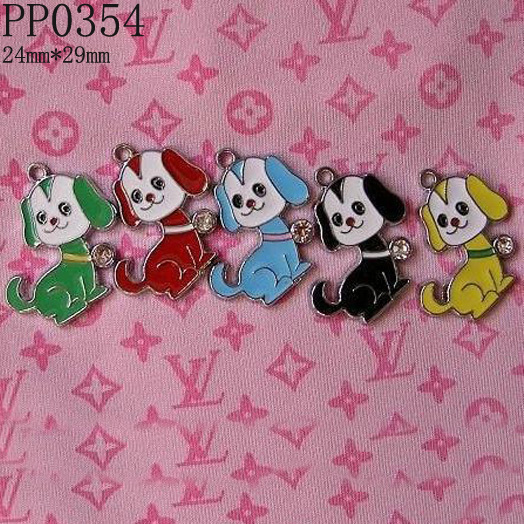 29mm Enamel Alloy Dog Charms Pendant,DIY Pet Collar Charms,Free Shipping Wholesale and Retail,200pcs/lot