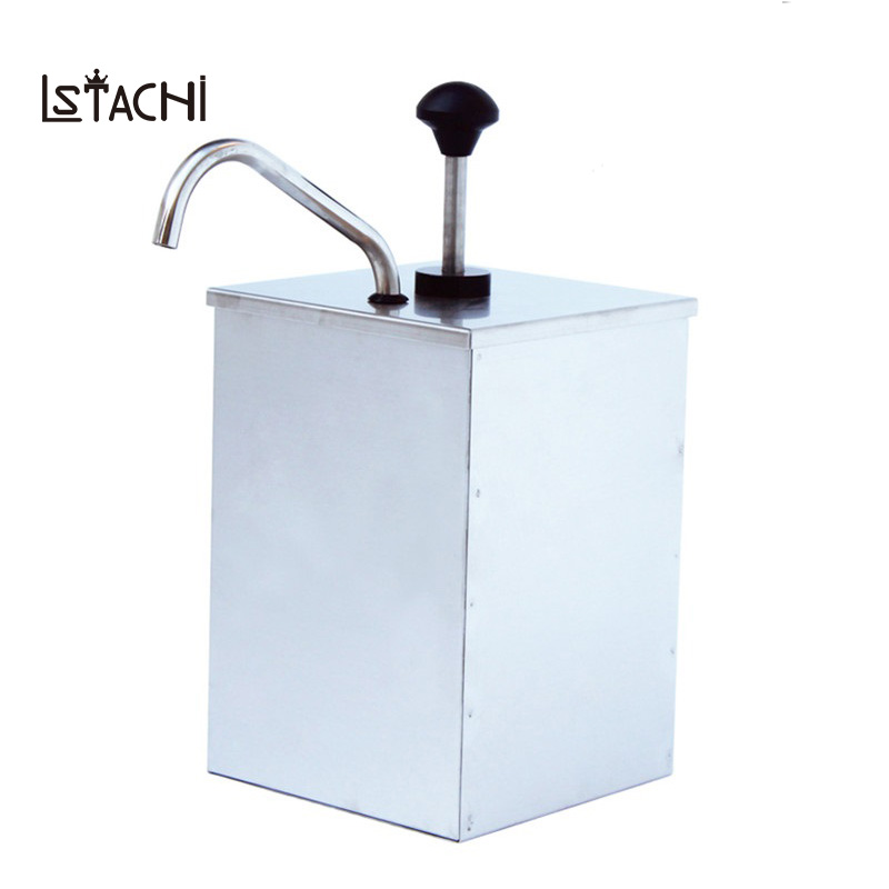 LSTACHi Chocolate Sauce Commercial Home Squeeze Jammer Stainless Steel Jam Filling Machine