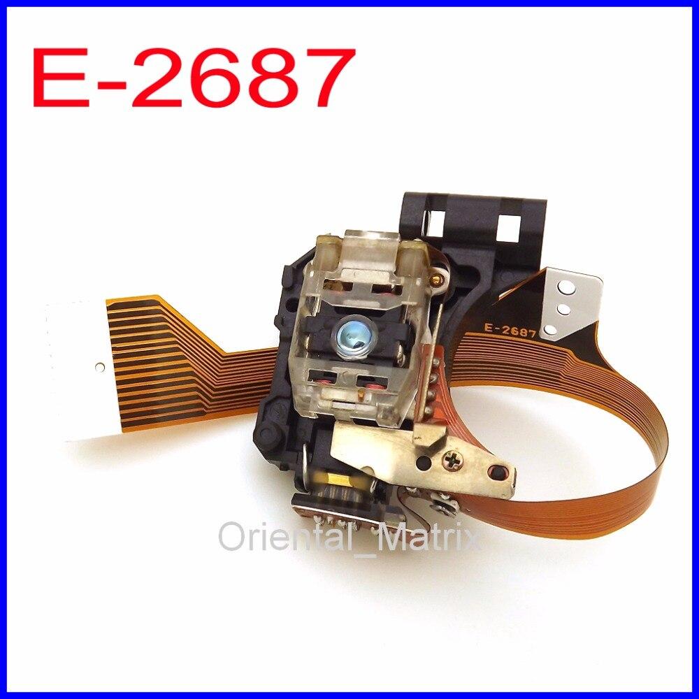 Livraison Gratuite E-2687 Voiture Laser Lens Lasereinheit YESFD13 E2687 Optique Ramassage Pour Panasonic/Toyota/Audi/Delco CD optique Ramassage