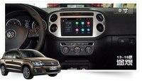 For VW Tiguan 2014 2015 Car Multimedia no DVD Player GPS Radio Navigation autoradio headunit Android 6.0 DVR tape recorder