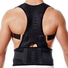 Adjustable Magnet Posture Corrector Brace Corset Body Care Shoulder Back Support Belt Band BB55