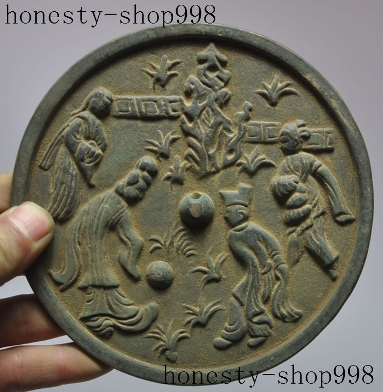 wedding decoration Collect Rare Old Chinese Classic figures god Statue Fengshui Bronze Mirrorswedding decoration Collect Rare Old Chinese Classic figures god Statue Fengshui Bronze Mirrors