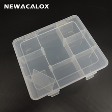 DIY Toolbox Electronic Plastic Storage Containers Tool Cases Transparent SMD SMT Parts Jewelry Component Storage Box