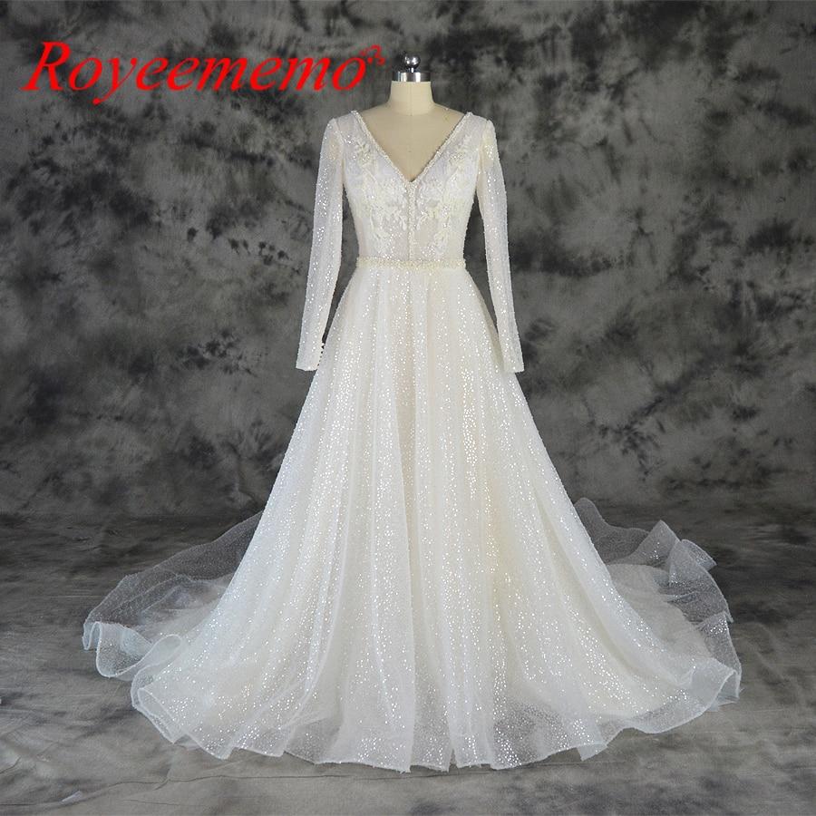 champagne and ivory full beading design wedding dress new luxury shining wedding gown custom made wholesale price bridal dress