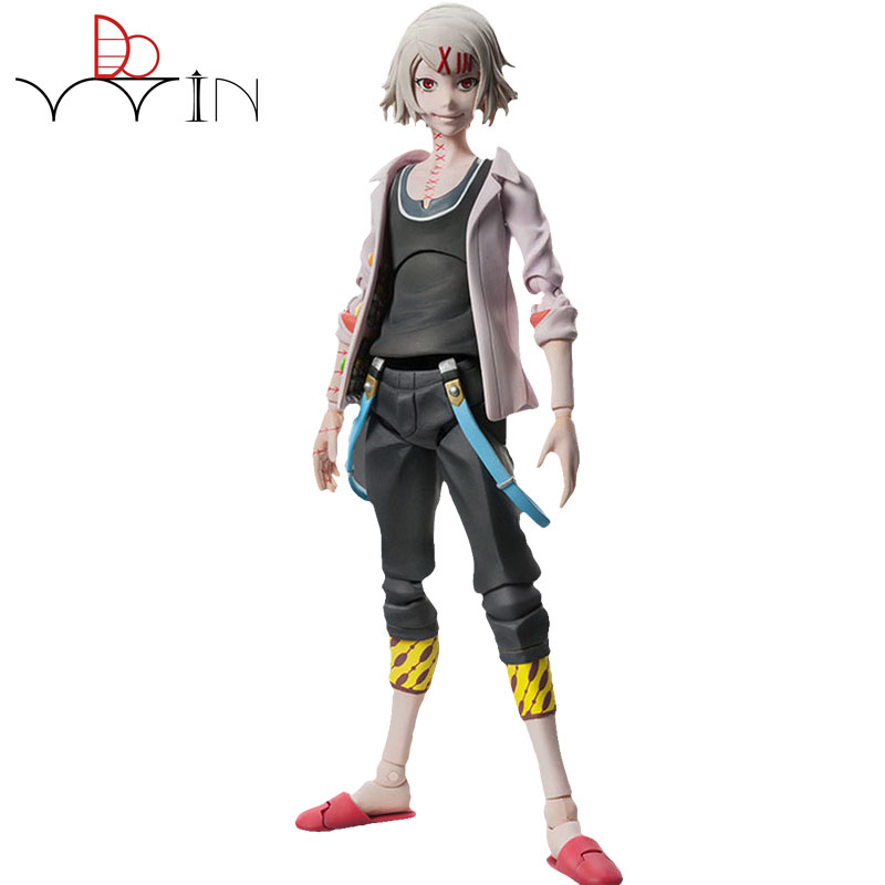 Original Anime Tokyo Ghoul Figure  Juzo Suzuya / REI Cosplay PVC Action Figures Collectible Model Toys Doll anime tokyo ghoul dark in light luminous satchel backpack schoolbag shoulder bag boys gilrs cosplay gifts