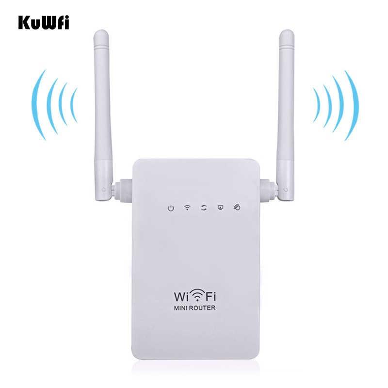 EEE802.11 b/g/n 2.4Ghz 300Mbps אלחוטי מיני נתב AP מהדר wifi אותות בוסטרים תמיכה WPS 2 * 3dBi אנטנה