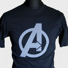 The Avengers Logo T Shirt Super Hero Hulk Iron Man Captain America Assemble New T Shirts Funny Tops Tee New Unisex Funny Tops new comics dc marvel slim wallet the avengers hulk iron man captain america purse logo credit oyster license card wallet