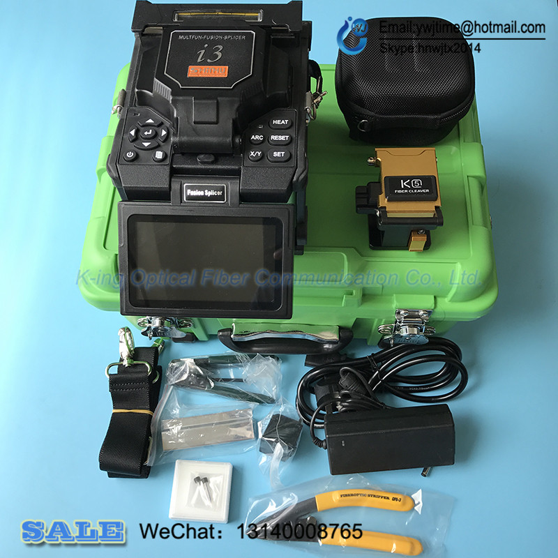 Newes King communication I3 Fusion splicer Automatic Intelligent Optical Fiber Fusion Splicer dustproof waterproof Anti dropping