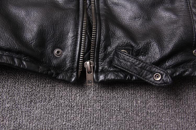 HTB1 JW8Xh rK1RkHFqDq6yJAFXaT Free shipping.New style warm mens clothes,motor biker leather Jackets,man black genuine Leather jacket.homme slim,cool,sales