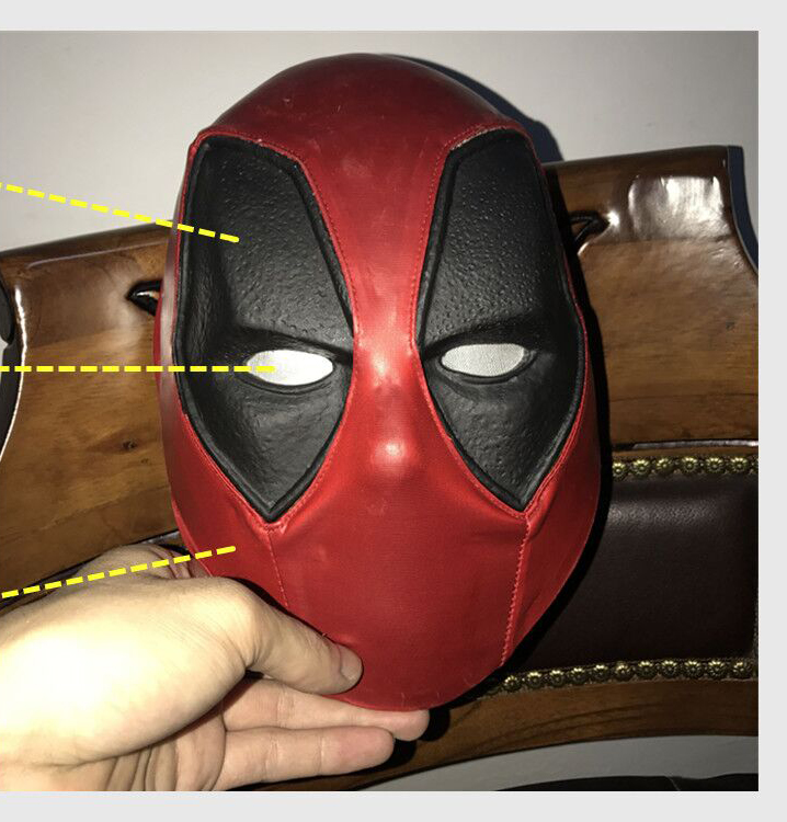 CATTOY couvre-chef cagoule masque visage complet Halloween Deadpool masques Zenpool cagoule x-men Halloween Costume Cosplay Cosplay masque