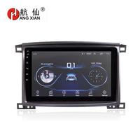 Without CANBUS HANG XIAN 9 Quadcore Android 8.1 Car radio for Toyota Land Cruiser 100 2005 2007 car dvd player GPS navi wifi