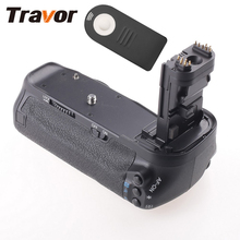 Travor Model Battery Grip for CANON 60D 60Da DSLR Digital camera Substitute BG-E9 with Infrared Distant Management