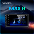 Dasaita 7 IPS Touch Screen Car Radio TDA7850 Android 9.0 for Universal 2 Din Car Stereo Bluetooth GPS Navigation 64GB ROM MAX6