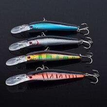 4 قطعة طعوم صيد سمك البلمة Crankbaits 125 مللي متر 14g #4 هوك باس الصلب الطعم المياه المالحة الصيد معالجة Wobblers إيسكا الاصطناعي pesca