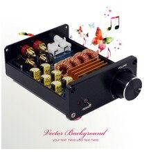 Bureau mini HiFi Numérique Audio Amplificateur de Puissance 100 w Haute Puissance Peut push 6-8 pouce haut-parleurs Sonnent clair et lumineux