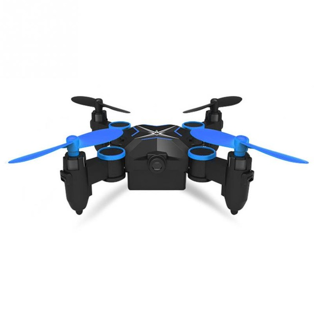 901HS Mini RC Pocket Drone 2.4G 6Axis with 0.3MP HD Camera Wifi FPV Altitude Hold Foldable RC Quadcopter
