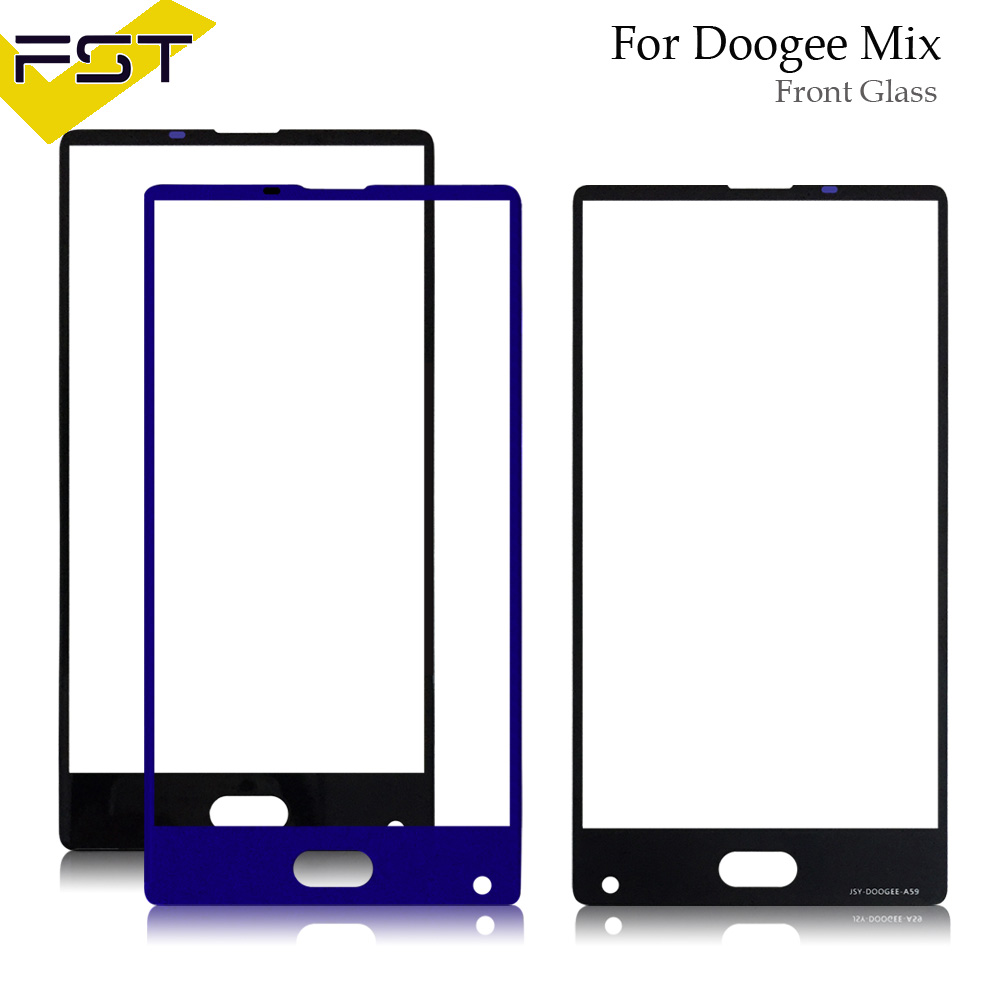 Glass Panel For Doogee Mix Front Outer Glass Lens Only No Touch No Lcd Spare Parts + ToolsGlass Panel For Doogee Mix Front Outer Glass Lens Only No Touch No Lcd Spare Parts + Tools