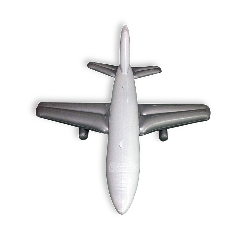 K001 Benao airplane advertising inflatable balloons, children little toys plane,cheap inflatable cartoon , Wholesale price