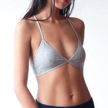 a428363dd70d7 Wriufred Braletette Beauty Back Triangle Cup Lingerie Bra Sleep Tops Sexy  Ultra-thin WomenY-