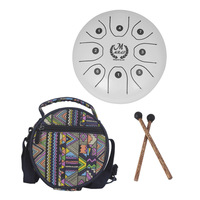Meibeite Tongue Drum Handpan Drum Hand Drum Fanyin Drum Percussion Instrument Toys for Children Learning Music Kit