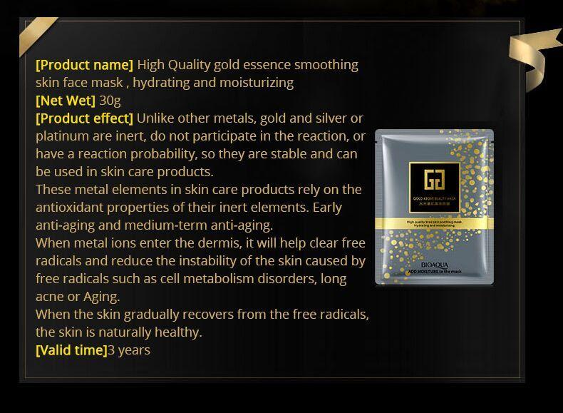 HTB1 JYka4rvK1RjSszeq6yObFXaW - 24K Gold Collagen Face Mask Crystal Gold Collagen Facial Masks