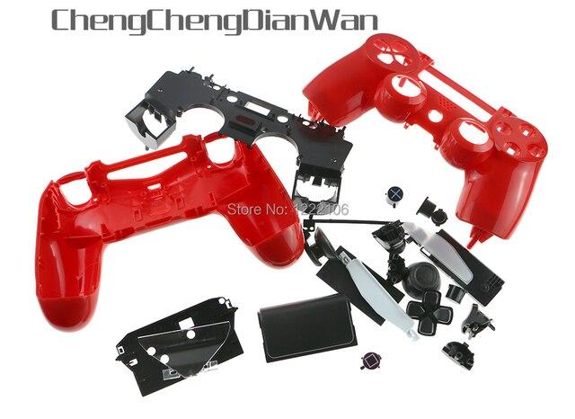 ChengChengDianWan 3ets 8 sets JDM 001 JDM 011 Shell fall mit Knopf Kits für PS4 Controller Gehäuse Shell Fall Abdeckung
