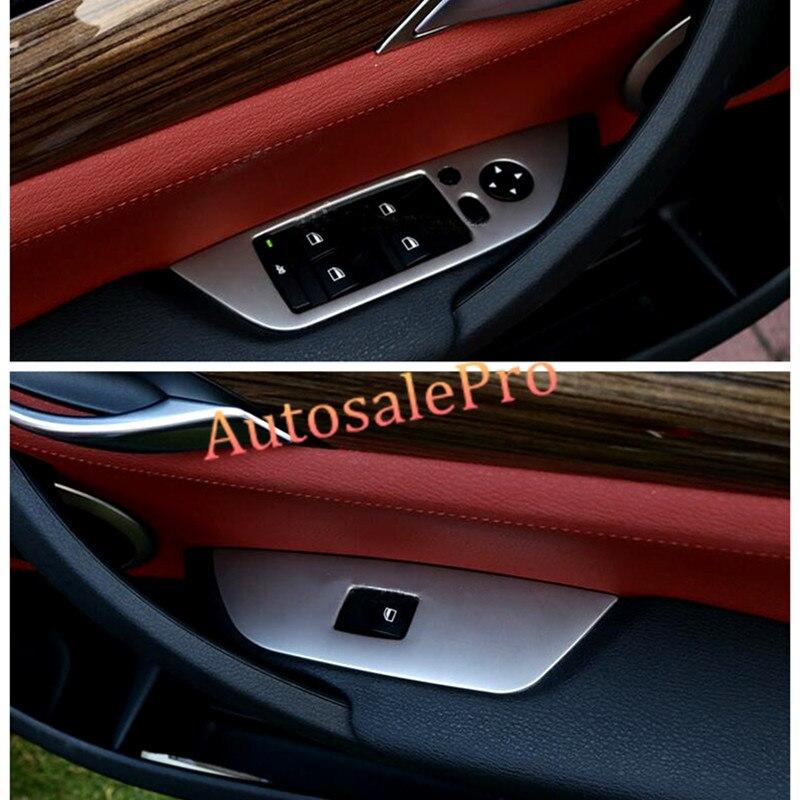 2015 Bmw X1 Interior: Interior Door Window Lift Switch Button Trim 4pcs For BMW