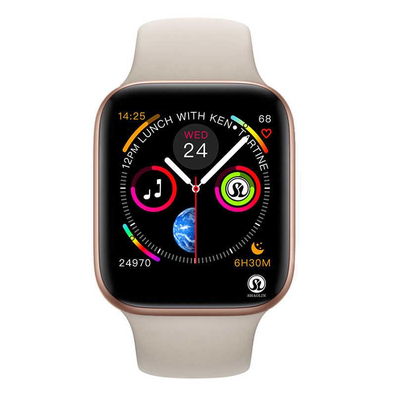 50% скидка Смарт-часы серии 5 Смарт-часы чехол для apple iPhone Android смарт-телефон монитор сердечного ритма педометр (красная кнопка)
