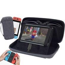 Сумки для консольный переключатель Nintendo аксессуары Портативный Защитный Чехол Путешествия Bolsa ДЛЯ NS switch сумка для консоли слот карты памяти