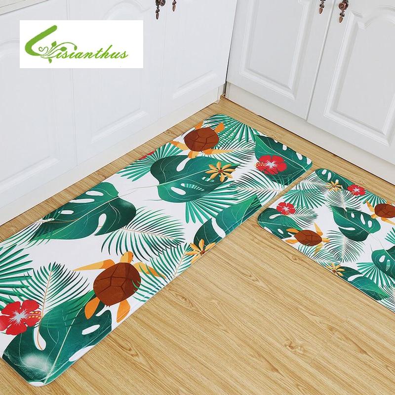 Soft Rugs Tropical Plants Flamingo Carpet Mats Bedroom Non-Slip Floor Mats Hallway Area Rug for Living Room Kitchen Tapete Rug