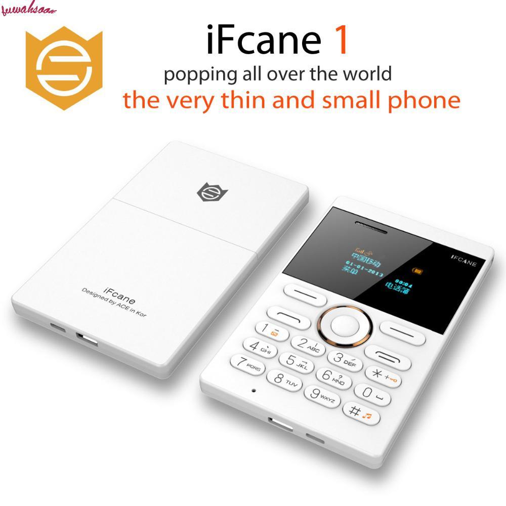 Ifcane E1 GSM New Phone Mobile-Phone-Cell Mini Children Ultra-Thin 2pcs/Lot Card Pocket