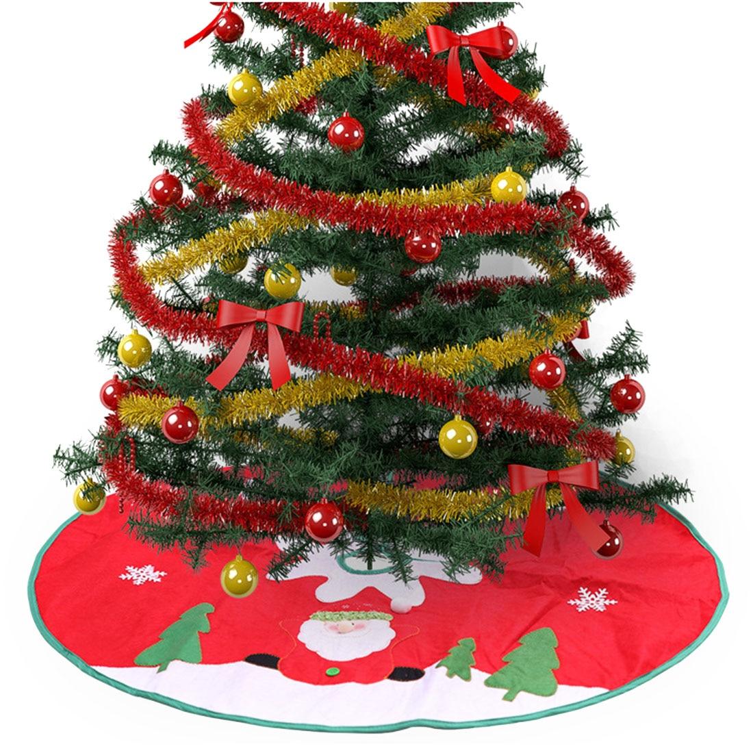 2019 Hot Sale Christmas Tree Skirt Santa Tree Carpet Party ...