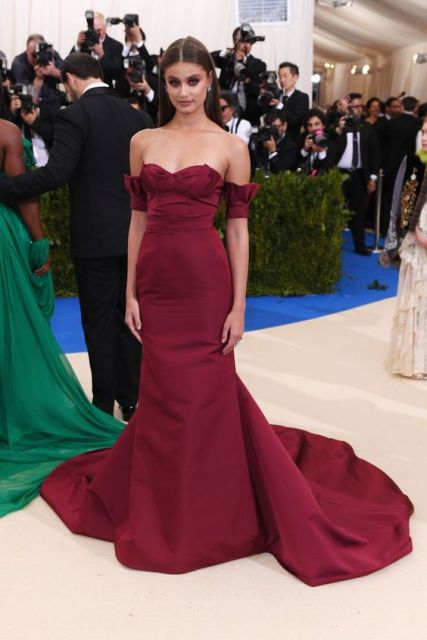 Sexy Inspired by Taylor Hill 2017 Met Gala Celebrity Dress