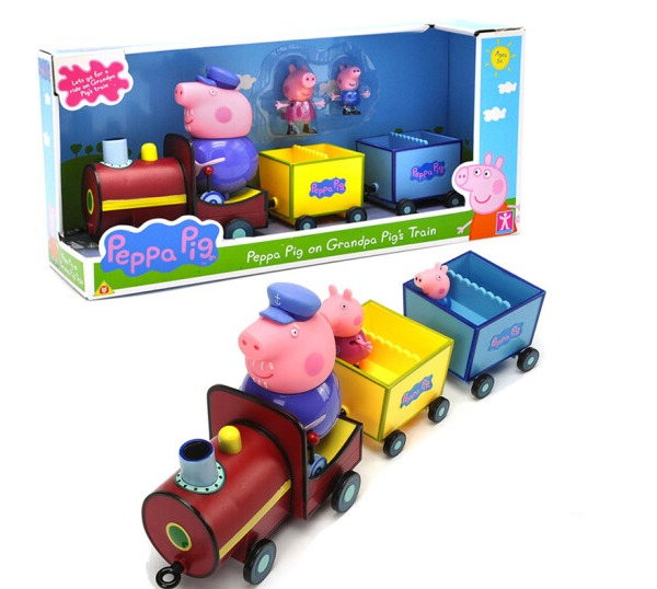 Blemay Pepal Piggy Little Tran Figures Kids Toys Set LQ919A chishimba mowa and bao tran nguyen mapping cells expressing estrogen receptors