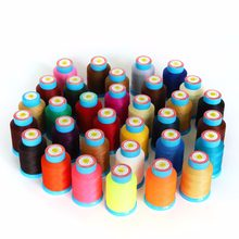 0.45mm Round type 200 meters Waxed Polyester Thread leather Traditional hand stitching Purse Bags Craft bracelet non-divisible(China)