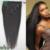 7A Grado Recta de Seda del Pelo Humano Virginal Brasileño 7 UNID Natural Afroamericano Brasileño Clip En Extensiones de Cabello Humano 100/120G
